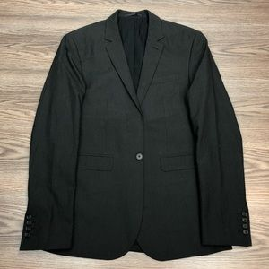 ASOS Charcoal Grey Slim Fit Blazer 38R